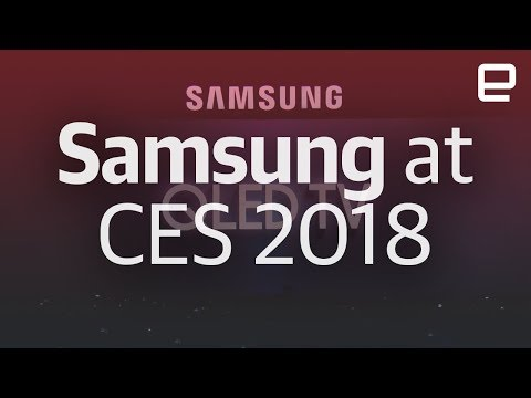 Samsung's CES 2018 event in under 12 minutes (видео)