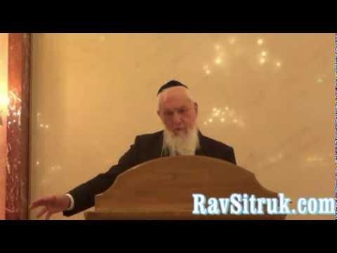 Yom Kippour par le Rav Sitruk Zatsal