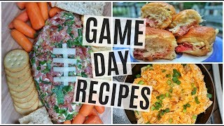 GAME DAY APPETIZERS | TheChowDown
