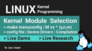 0x1b6 make menuconfig - options | Device Drivers | Linux Kernel Compilation and Module Selection