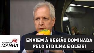 Sugiro que enviem à região dominada pelo EI a dupla Dilma e Gleisi | Augusto Nunes