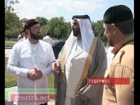 Шейх Ахмад в Центорое и Гудермесе побывал в школе Хафизов - видео