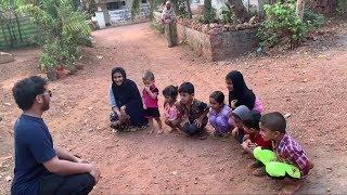 وزعنا هدايا للاطفال وسويت لهم تحديات في القريه!👍🏻💁🏻😎