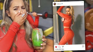 I Tried an Instagram Fitness Model Routine *booty workout *
