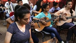 Students at Gaza Music School Receive ANERA Scholarships