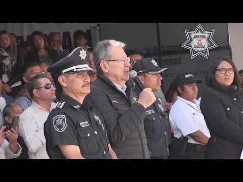 Graduación de 63 Policías Preventivos Municipales