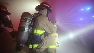 Clip: Firefighting training at Coast Guard Training Center Cape May