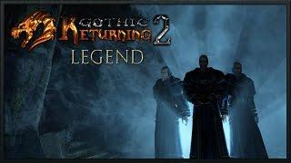 Готика 2 Возвращение 2.0 (легенда) #31 Грязный воришка и форт Азган