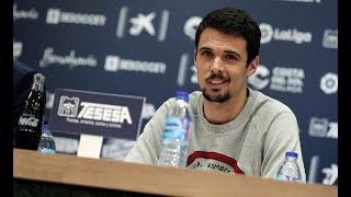 Morán: 'Tengo ganas de ponerme la camiseta del Málaga y ayudar'