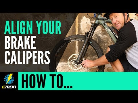 Align The Disc Callipers On Your E-Mountain Bike | EMBN How To
