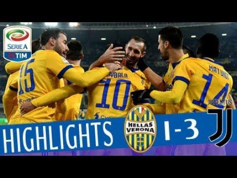 Hellas Verona - Juventus 1-3 - Highlights - Giornata 19 - Serie A TIM 201718