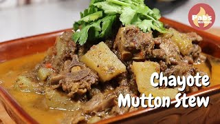 Chayote with Mutton Stew