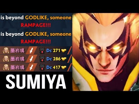 EPIC SumiYa Invoker God OMG Combo Rampage x2 Delete SF Mid Crazy Gameplay WTF Dota 2