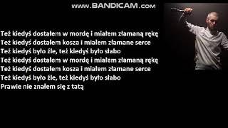 Bedoes Chłopaki Nie Płaczą [TEKST]