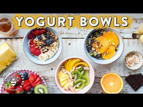 Video 3 Healthy YOGURT BOWLS with Dual Action