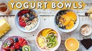 3 Healthy YOGURT BOWLS With Dual Action | HONEYSUCKLE