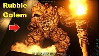 ARK: Scorched Earth #26 - Đã bắt được Người đá khổng lồ Rubble Golem =))