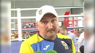 Дмитрий Сосновский, главный тренер сб Украины по боксу. Открытая тренировка перед ЧЕ. 09/06/2017
