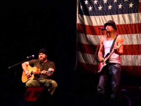Can't You See performed by Zac Brown Band; features Kid Rock