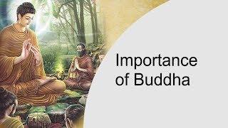 Importance of Buddha