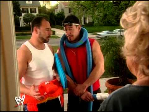 WWE the los guerrero's lie cheat and steal (pool)