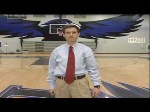 Reporter makes amazing half court shot