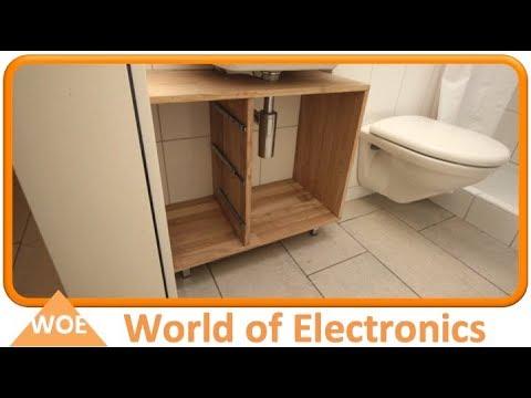 Waschbecken Unterschrank selber bauen #1