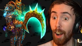 Asmongold Reacts To The NEW RAID GEAR And Actually Loves it!