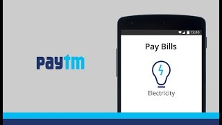 Steps to pay your electricity bill using Paytm app
