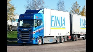 Slideshow With The New Scania R, S & G Series Part 1 Full HD 1080P