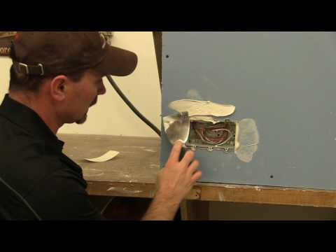 How To Patch Drywall Around An Electrical Box