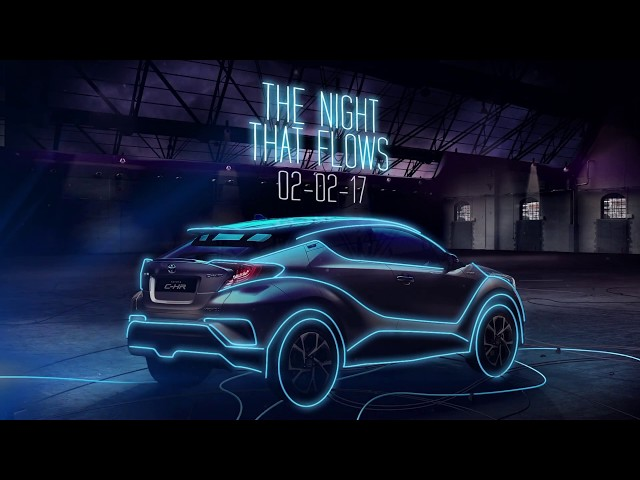 Toyota: New C-HR launch with influencer markting