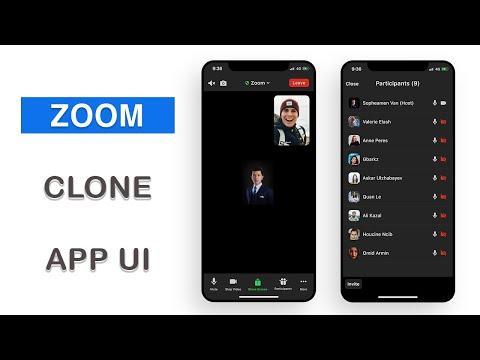 Flutter UI - Zoom Clone - Main Screen - Part I - Speed Code