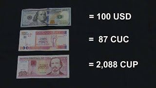 What you need to know about Cuba's 2 currencies