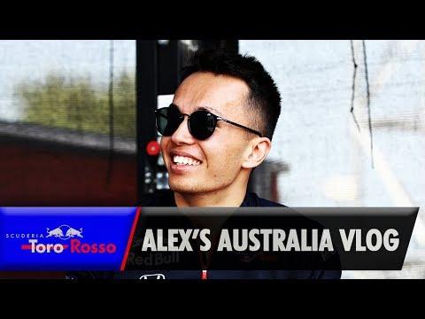 Australian GP Vlog - Alex Albon