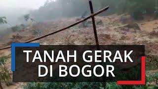 Video Pergerakan Tanah Pasca Hujan Deras di Sungai Ci Durian Bogor, Ini Penjelasan BNPB