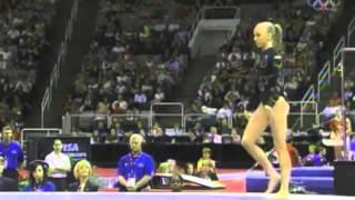 Nastia Liukin vs. Shawn Johnson (1) : 2007 Visa Championships