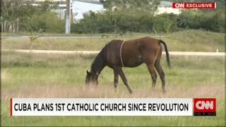 preview picture of video 'CNN: на Кубе разрешили построить первый католический храм'