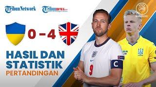 Highlight & Hasil Pertandingan Euro 2020 Ukraina 0-4 Inggris, Three Lions Jumpa Denmark di Semifinal
