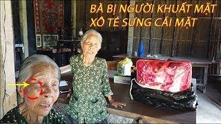 Phần 2 : Bà cụ 80 tuổi ở giữa cánh đồng | bị NGƯỜI KHUẤT MẶT xô té sưng cái mặt