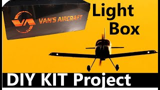 RV Aircraft Video - Vans Aircraft Light Box - DIY Project