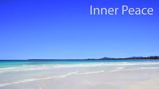 Inner Peace - Sound of Ocean Waves and Native American Flute - Calming Meditation Music