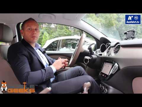 Tech-Check / Hands on: Infotainment System Opel Adam Rocks 2014