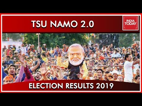Tsu Namo 2.0 With Much Bigger Mandate According To India Today's Exit Polls | Results 2019 (видео)