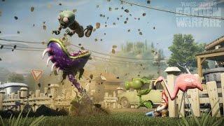 Игра как Мультик   Растения против зомби # Крутые разборки  Garden Warfare   садовые войны