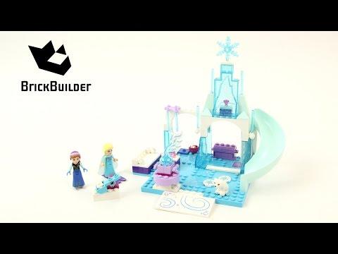 Vidéo LEGO Juniors 10736 : L'aire de jeu d'Anna et Elsa