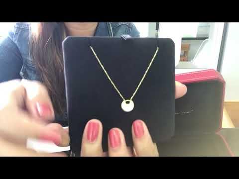 Cartier Amulette de Cartier necklace review video