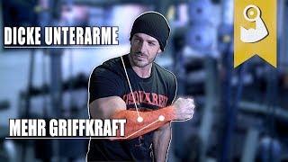 Unterarm Workout Komplettes Training für Muskelaufbau