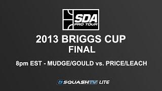 SQUASH (Hardball Doubles) : SDA 2013 Briggs Cup - FINAL