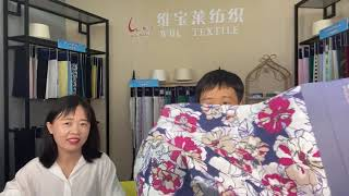 100% Cotton Fabric Poplin Fabric 40x40 110x70 Shirting Fabric exporter  youtube video